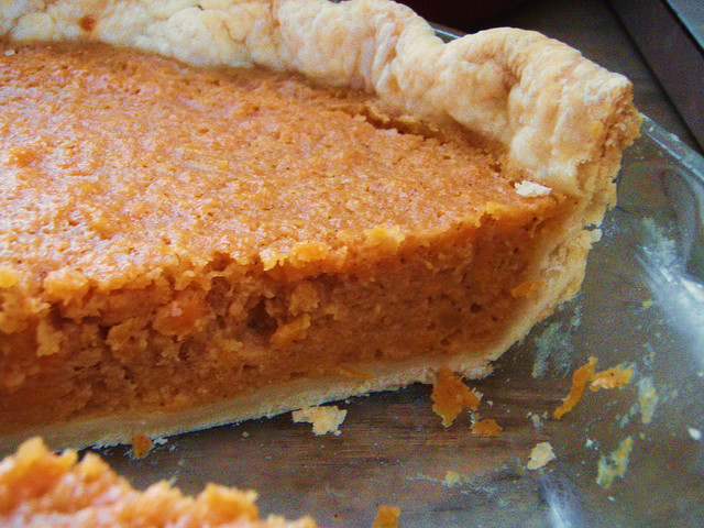 po' man meals - amazing sweet potato pie