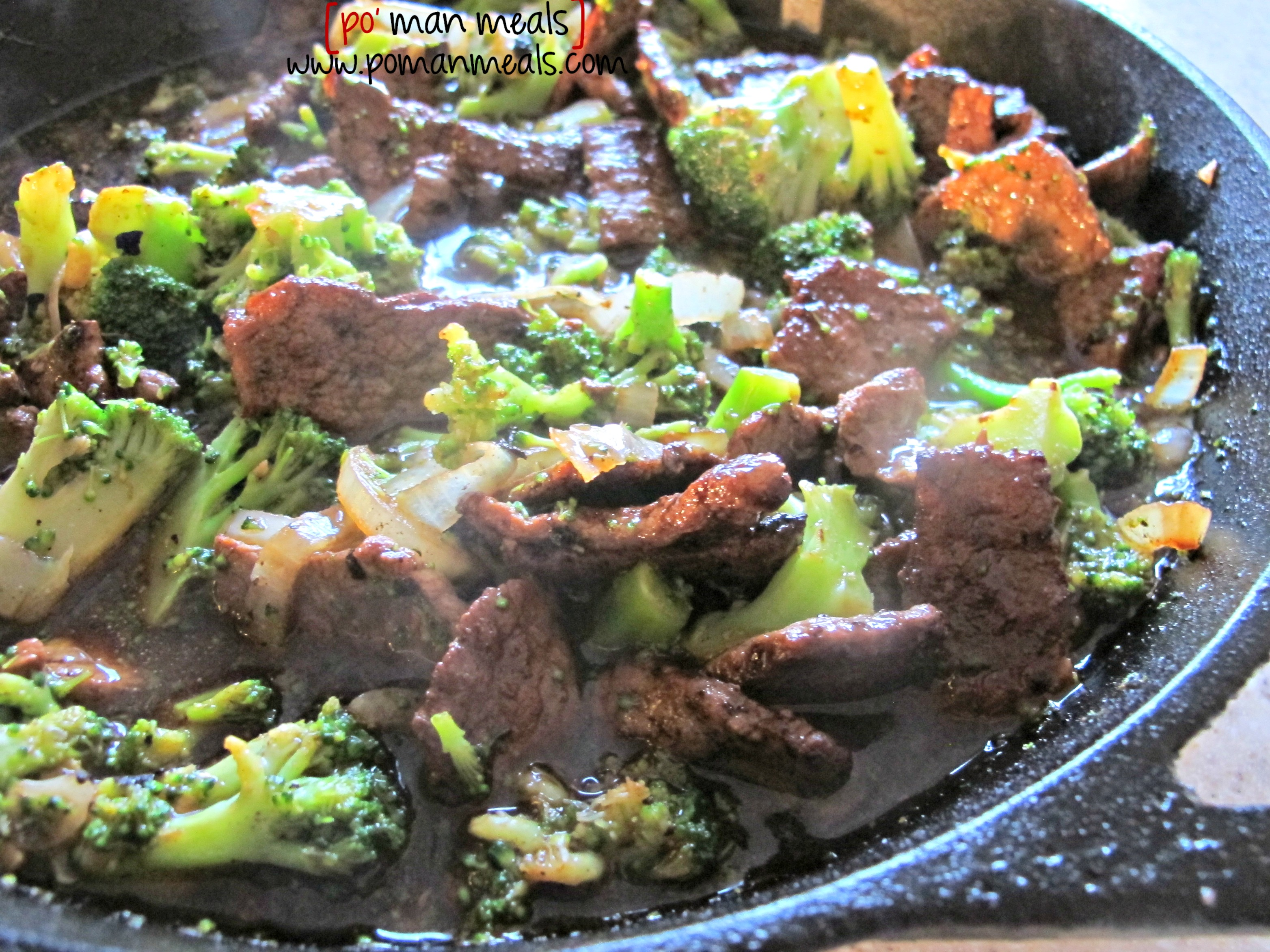 Po man meals easy beef and broccoli easy beef and broccoli forumfinder Gallery