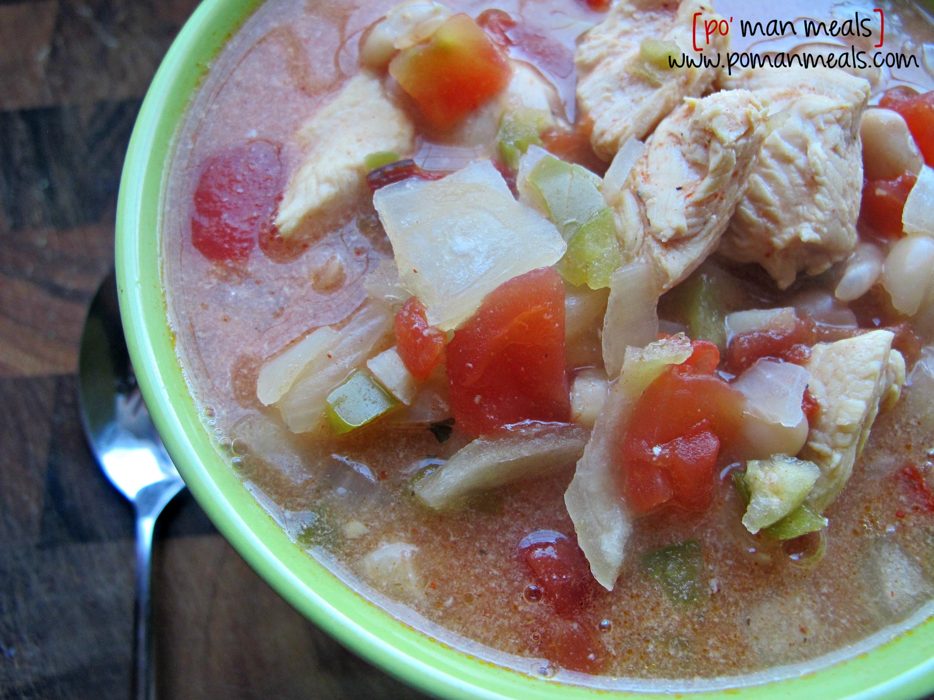 po' man meals - 2 teaspoons paprika